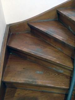 Treppensanierung vor